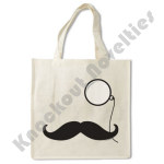 Mustache and Monocle Bag