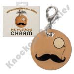Mustache & Monocle Charm