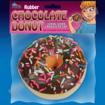 Rubber Chocolate Donut