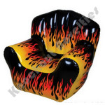 "40"" x 30"" Inflatable Flame Chair"