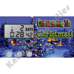 Countdown to Christmas Keychain
