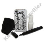 Doodle Case for iPhone 4s & 5s