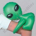 """12.5"""" Inflatable Alien"""