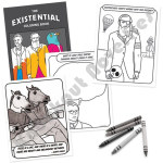 Existential Coloring Book