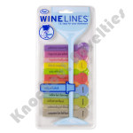 Wine Lines Reviews Glass Tags