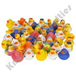 "100 Count - 2"" Rubber Duck Assortment"