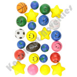 (25 Count) Stress Balls Assortment