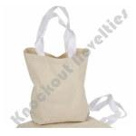 """(Dozen) 8.75"""" Canvas Tote Bags"""