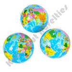 "3"" Globe Stress Balls"