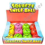 "(Dozen) 2.5"" Smiley Face Stress Balls"