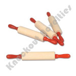 """7.5"""" Wooden Rolling Pin"""