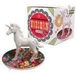 Unicorn Garden Trinket Plate