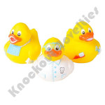 "(Dozen) 2"" Dental Rubber Duckies"
