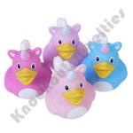 """(Dozen) 2"""" Unicorn Rubber Duckies"""