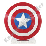 Metal Earth: Marvel - Captain America's Shield