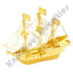 Metal Earth: Gold Golden Hind