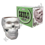 Skull Plant Pot - Bone White