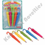 Rainbow Umbrella Gel Pen Set