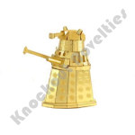Metal Earth: Dr. Who - Gold Dalek