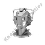 Metal Earth: Dr. Who - Cyberman Head