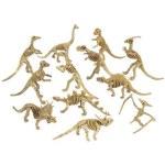 (Dozen) Dinosaur Skeleton Figures
