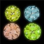 """(Dozen) 2"""" Glow in the Dark Suction Balls"""