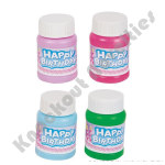 (24 Count) 1 oz Birthday Bubble Bottles