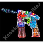 "5.5"" Transparent Light-Up Bubble Blaster"