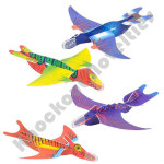 "(48 Count) 8"" Dinosaur Gliders"