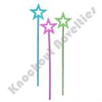 "(Dozen) 14.5"" Metallic Star Wand"