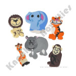 (144 Count) Mini Zoo Animal Eraser Assortment
