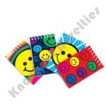 (Dozen) Spiral Smile Notebooks