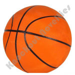 "7"" Orange Mini Basketball"