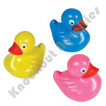 "(Dozen) 2"" Floating Plastic Ducks"