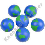 "(Dozen) 2"" Earth Stress Ball"