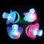 (Dozen) Light-Up Joke Pacifier