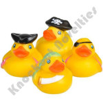 "(Dozen) 2"" Pirate Rubber Duckies"