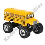 "5"" Diecast Big Wheel School Bus"
