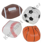 "(Dozen) 2"" Soft Stuffed Sport Balls"