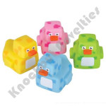 "(Dozen) 2"" Pixelated Rubber Duckies"