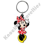 Soft Touch Keyring - Minnie