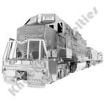 Metal Earth: Freight Train Box Gift Set