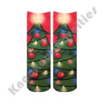 Crew Socks - Christmas Tree