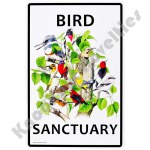 Bird Sanctuary - Sign