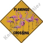 Flamingo Crossing - Sign