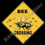 Bee Crossing - Sign