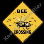 Bee Crossing - Sign