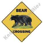 Bear Crossing - Sign