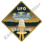 UFO Crossing - Sign
