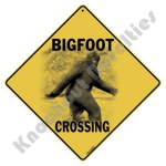 Big Foot Crossing - Sign